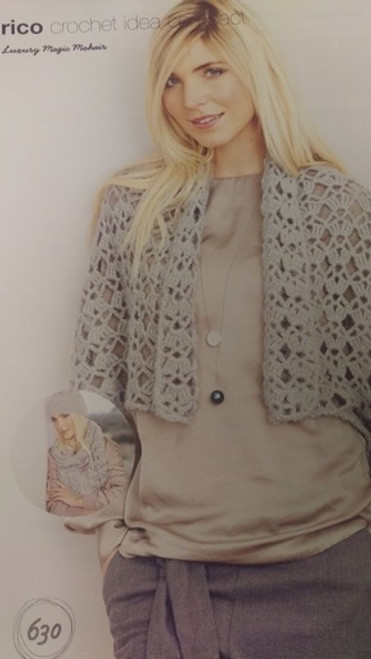 Rico Pattern 630 - Jacket, Scarf and Hat