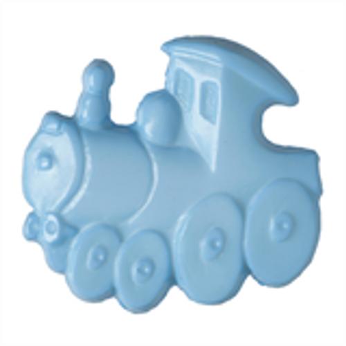 Blue Train Button