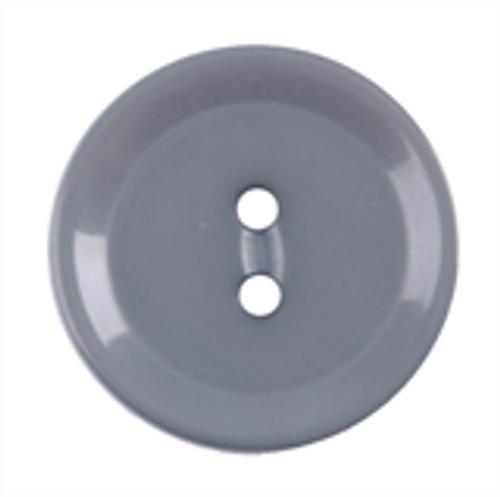 Grey Polyester Button