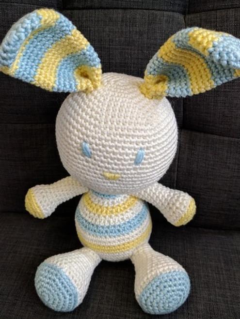 Woolfull Crochet Pattern - Benji the Rabbit