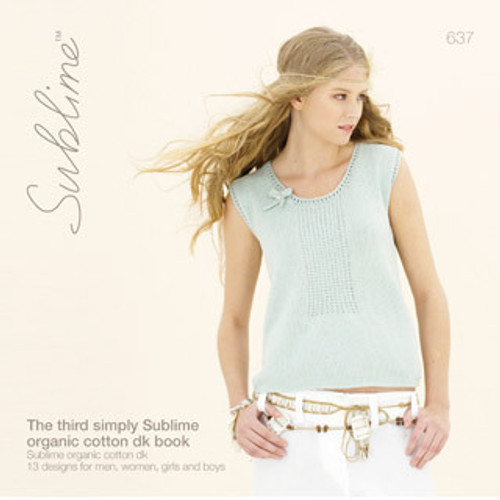 The Third Simply Sublime Organic Cotton DK Book (637)