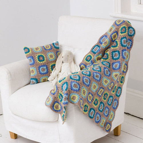 Soleil Blanket and Cushion