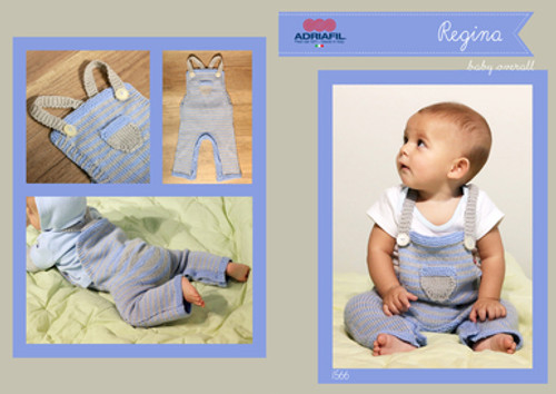 Adriafil Pattern 1566 - Baby Overall