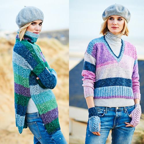 Stylecraft Pattern 9535 - Sweaters and Mittens