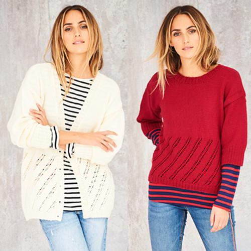 Stylecraft Pattern 9587 - Cardigan and Sweater