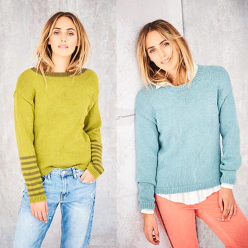 Stylecraft Pattern 9580 - Sweaters