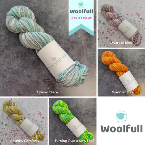Claire Nettleship Yarns - Self-striping Sock Yarn