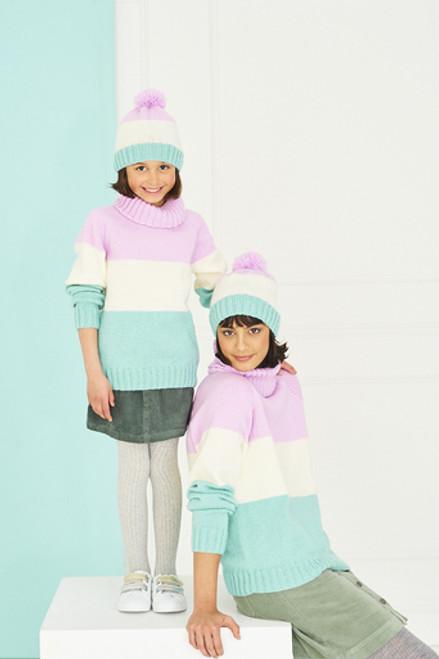 Stylecraft Pattern 9763 - Sweaters and Hats