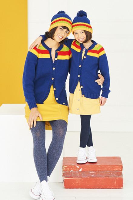Stylecraft Pattern 9766 - Cardigans and Hats