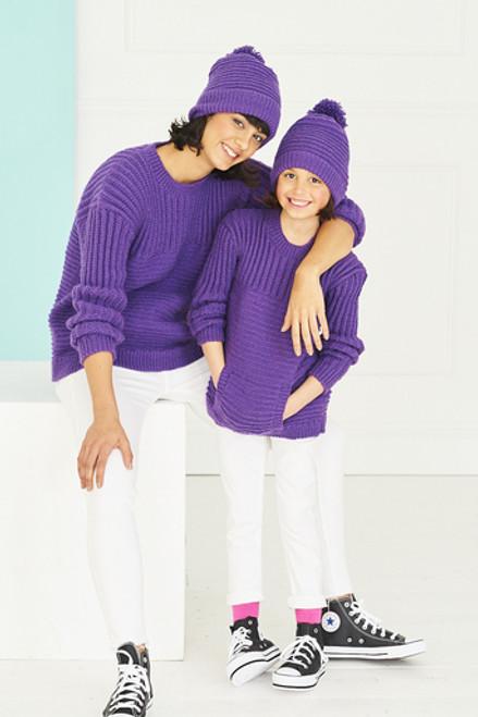 Stylecraft Pattern 9767 - Sweaters and Hats