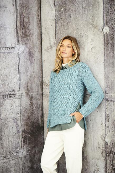 Stylecraft Pattern 9806 - Jacket and Sweater
