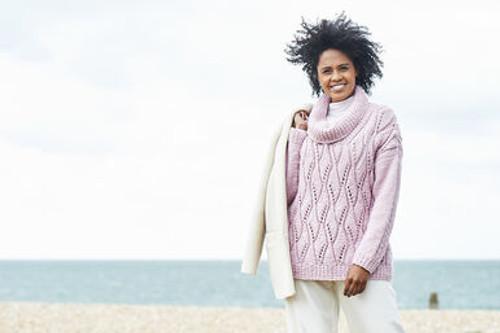 Stylecraft Pattern 9816 - Sweater and Cardigan