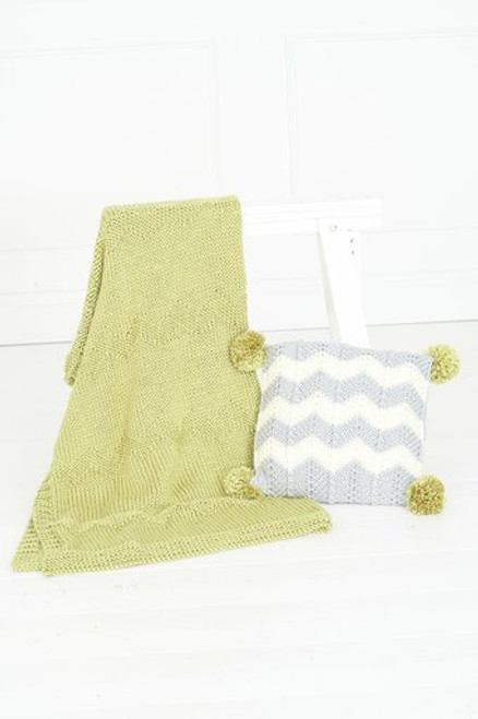 Stylecraft Pattern 9789 - Blanket and Cushions