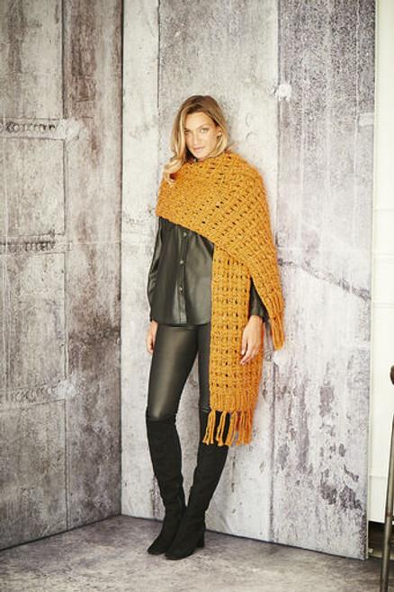 Stylecraft Pattern 9810 - Scarves and Snoods