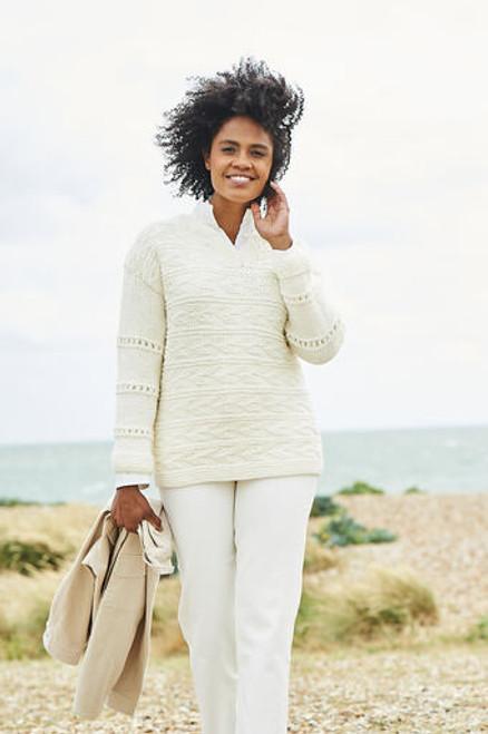 Stylecraft Pattern 9817 - Sweater and Cardigan