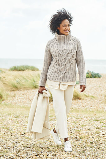 Stylecraft Pattern 9814 - Sweater and Jacket