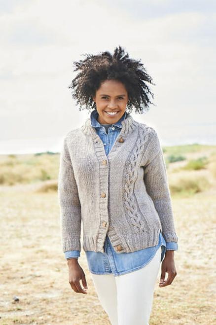 Stylecraft Pattern 9812 - Sweater and Jacket