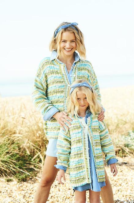 Stylecraft Pattern 9826 - Sweater and Cardigan