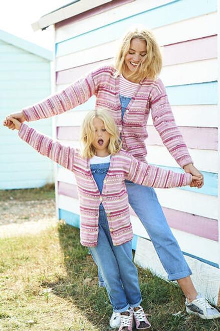 Stylecraft Pattern 9821 - Cardigan and Sweater