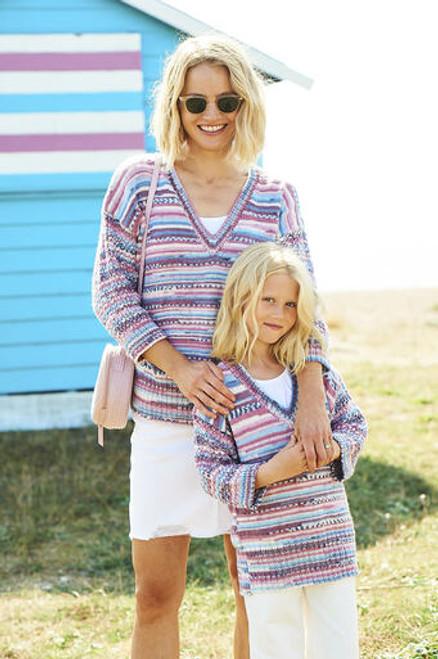 Stylecraft Pattern 9823 - Sweaters