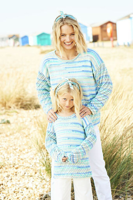 Stylecraft Pattern 9822 - Sweater and Cardigan