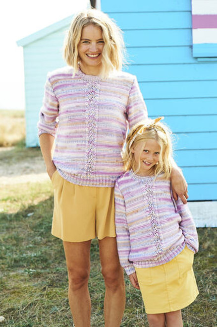 Stylecraft Pattern 9824 - Cardigan and Sweater