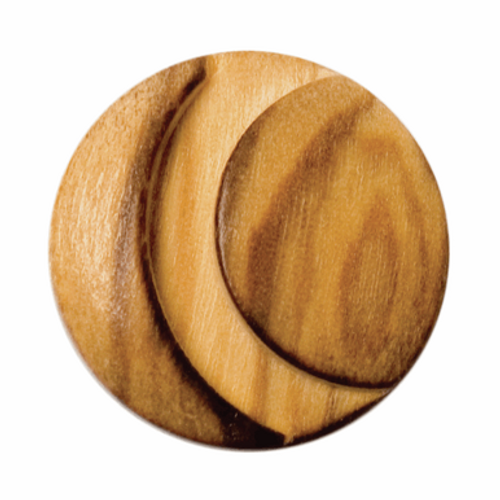 Wooden Cut-out Button