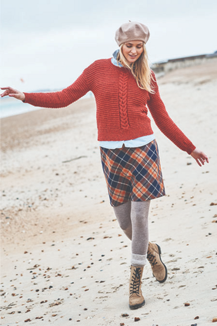 Stylecraft Pattern 9863 - Round and Polo Neck Sweaters