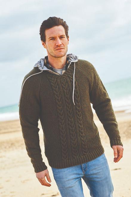 Stylecraft Pattern 9867 - Round and V-Neck Sweaters