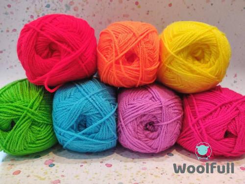 Rainbow Yarn Pack - Bright