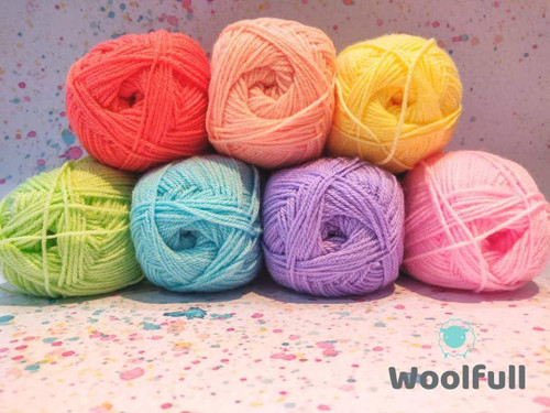Rainbow Yarn Pack - Pastel