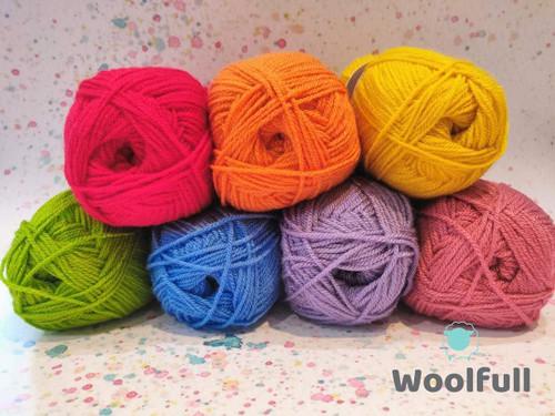 Rainbow Yarn Pack - Regular