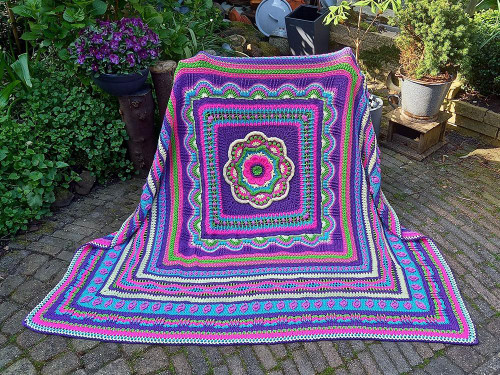 Faith Blanket - Confidence Yarn Pack in Special DK