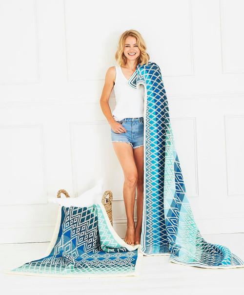 Queen Blanket - Oceania Yarn Pack (Large)