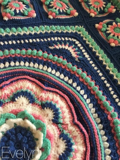 Floralia Blanket - Evelyn Yarn Pack
