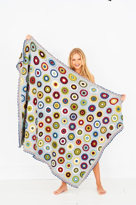 Pressed Flowers Blanket - Yarn Pack