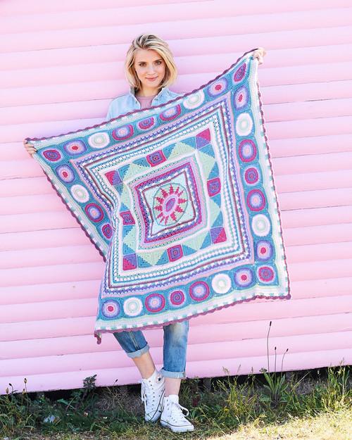 Sunstar Blanket - My Country Garden Yarn Pack