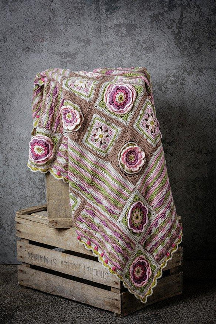 Lily Pond Blanket - Cherry Blossoms Yarn Pack