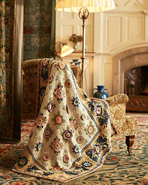 Fruit Garden Blanket - Yarn Pack (Parchment & Caramel)