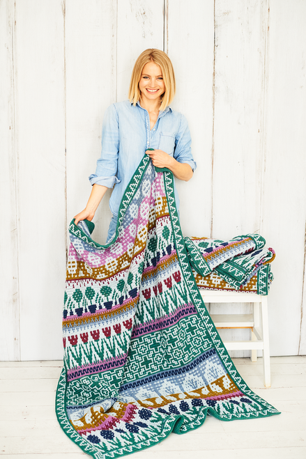 Letitia's Garden - Country Garden - Medium Blanket Yarn Pack