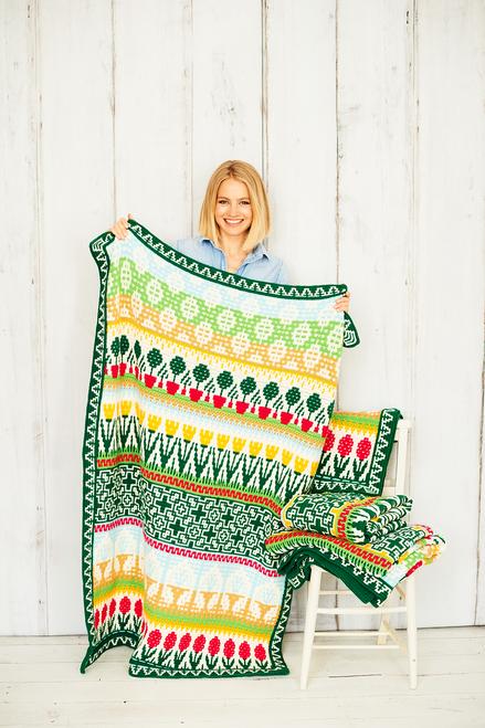 Letitia's Garden - Cottage Garden - Small Blanket Yarn Pack