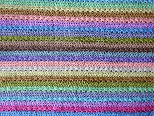 Attic24 Cupcake Stripe Blanket - Yarn Pack