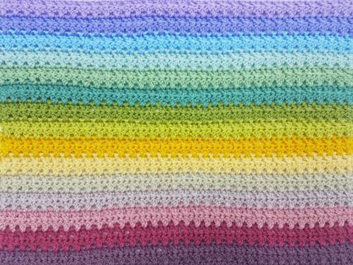 Attic24 Meadow Stripe Blanket - Yarn Pack