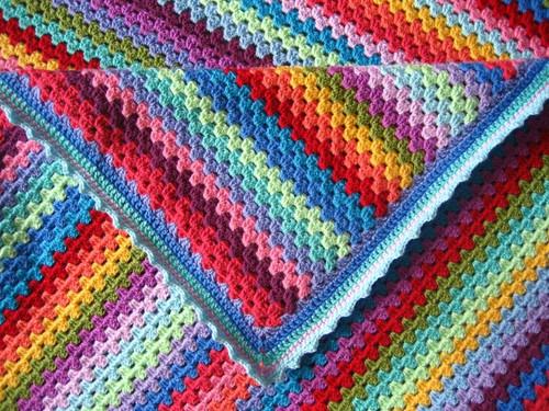 Attic24 Original Granny Stripe Blanket - Yarn Pack