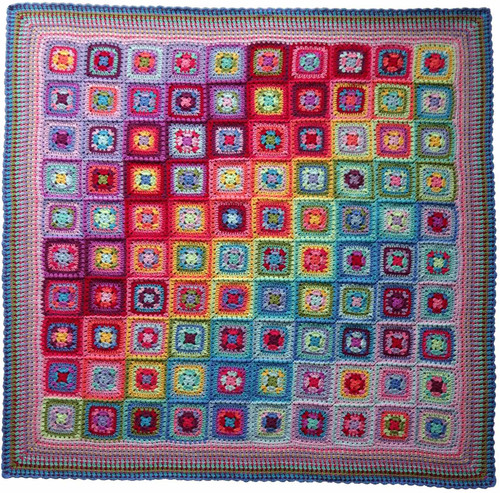 Attic24 Summer Harmony Blanket - Yarn Pack