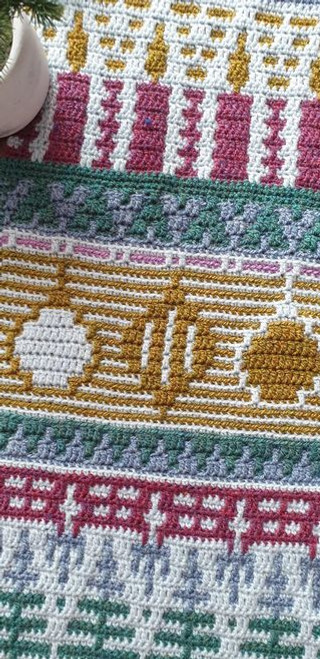 Letitia's Holiday - Country Holiday - Medium Yarn Pack