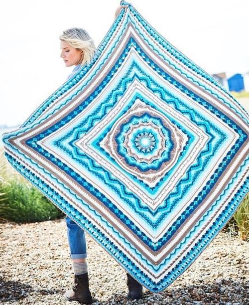 Cornish Comfort - Blue - Blanket Yarn Pack