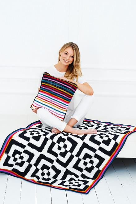 Hypno Blanket & Cushion - Yarn Pack