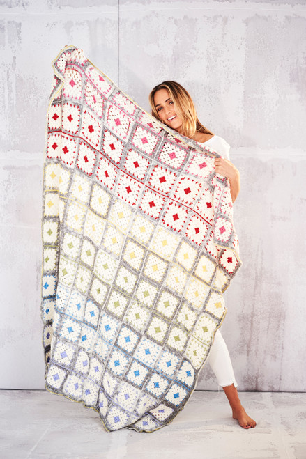 Square Patch Blanket - Yarn Pack