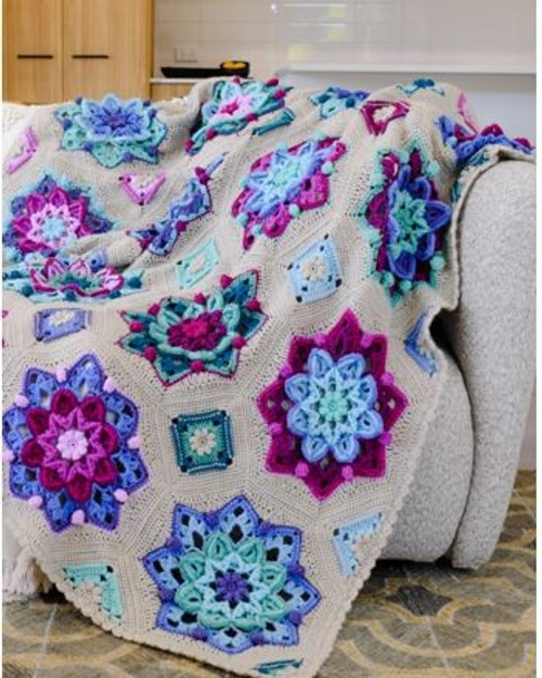 Floral Dreams - Colour Recipe 1 - Blanket Yarn Pack
